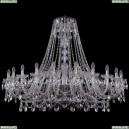 1411/24/530/Ni Хрустальная подвесная люстра Bohemia Ivele Crystal (Богемия)