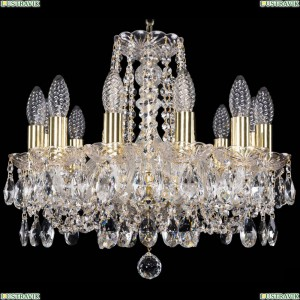 1402/12/141/G Хрустальная подвесная люстра Bohemia Ivele Crystal (Богемия)
