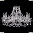 1406/12/240/Ni Хрустальная подвесная люстра Bohemia Ivele Crystal (Богемия)