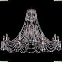 1771/12/490/C/NB Хрустальная подвесная люстра Bohemia Ivele Crystal (Богемия)