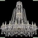 1411/20/400/XL-120/G Хрустальная подвесная люстра Bohemia Ivele Crystal (Богемия)
