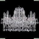 1413/12/200/Ni Хрустальная подвесная люстра Bohemia Ivele Crystal