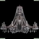 1771/12/490/A/NB Хрустальная подвесная люстра Bohemia Ivele Crystal