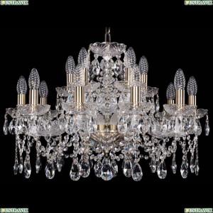 1413/10+5/220/Pa Хрустальная подвесная люстра Bohemia Ivele Crystal (Богемия)