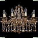 1613/8/200/GB/M721 Хрустальная подвесная люстра Bohemia Ivele Crystal (Богемия)