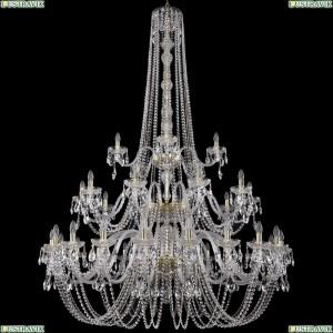 1402/20+10+5/530/h-206/3d/G Хрустальная подвесная люстра Bohemia Ivele Crystal (Богемия)