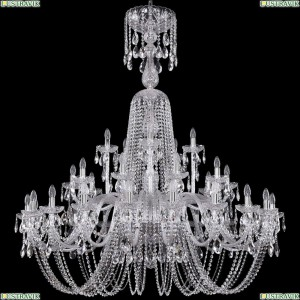 1402/20+10+5/530/XL-165/Ni Хрустальная подвесная люстра Bohemia Ivele Crystal (Богемия)