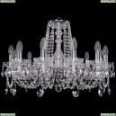 1402/12/240/Ni Хрустальная подвесная люстра Bohemia Ivele Crystal