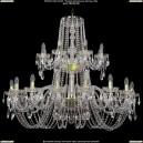 1402/16+8/400-100/2d/G Хрустальная подвесная люстра Bohemia Ivele Crystal