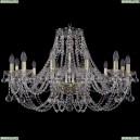 1406/12/300/G/Balls Хрустальная подвесная люстра Bohemia Ivele Crystal (Богемия)