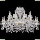 1411/16+8/360/G Хрустальная подвесная люстра Bohemia Ivele Crystal (Богемия)