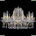 1413/12/220/G Хрустальная подвесная люстра Bohemia Ivele Crystal (Богемия)