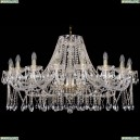 1413/18/400/G Хрустальная подвесная люстра Bohemia Ivele Crystal