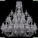 1402/20+10+5/400/3d/Ni Хрустальная подвесная люстра Bohemia Ivele Crystal
