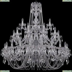 1402/20+10+5/400/3d/Ni Хрустальная подвесная люстра Bohemia Ivele Crystal (Богемия)