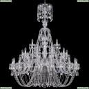 1406/20+10+5/460/XL-165/Ni Хрустальная подвесная люстра Bohemia Ivele Crystal (Богемия)