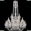 1402/16+8+4/300/h-123/3d/G Хрустальная подвесная люстра Bohemia Ivele Crystal (Богемия)