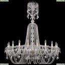 1402/20/400/XL-140/G Хрустальная подвесная люстра Bohemia Ivele Crystal (Богемия)