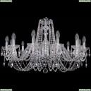 1402/12/300/Ni Хрустальная подвесная люстра Bohemia Ivele Crystal