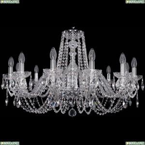 1402/12/300/Ni Хрустальная подвесная люстра Bohemia Ivele Crystal (Богемия)