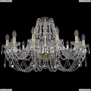 1406/12/300/G/Leafs Хрустальная подвесная люстра Bohemia Ivele Crystal (Богемия)