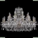 1402/16+8/300/Pa Хрустальная подвесная люстра Bohemia Ivele Crystal