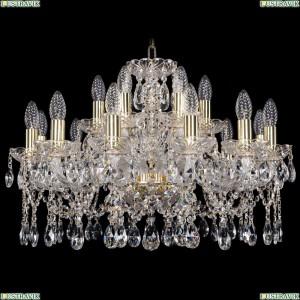 1413/12+6/220/G Хрустальная подвесная люстра Bohemia Ivele Crystal (Богемия)