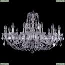 1406/12/300/Ni/Leafs Хрустальная подвесная люстра Bohemia Ivele Crystal (Богемия)