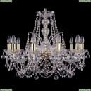 1411/10/240/G/Balls Хрустальная подвесная люстра Bohemia Ivele Crystal (Богемия)