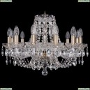 1406/12/195/Pa Хрустальная подвесная люстра Bohemia Ivele Crystal (Богемия)