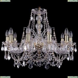 1411/10/240/G/Leafs Хрустальная подвесная люстра Bohemia Ivele Crystal (Богемия)