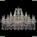 1413/16+8/360/G Хрустальная подвесная люстра Bohemia Ivele Crystal