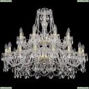 1411/16+8/360/2d/G Хрустальная подвесная люстра Bohemia Ivele Crystal (Богемия)