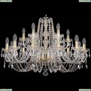 1402/12+6/300/G Хрустальная подвесная люстра Bohemia Ivele Crystal (Богемия)