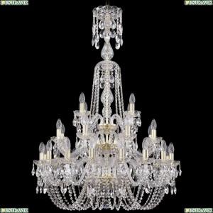 1402/16+8+4/300/XL-123/3D/G Хрустальная подвесная люстра Bohemia Ivele Crystal (Богемия)