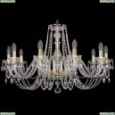 1402/10/300/G Хрустальная подвесная люстра Bohemia Ivele Crystal