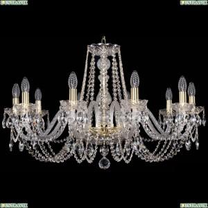 1402/10/300/G Хрустальная подвесная люстра Bohemia Ivele Crystal (Богемия)