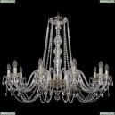 1402/10/360/G Хрустальная подвесная люстра Bohemia Ivele Crystal