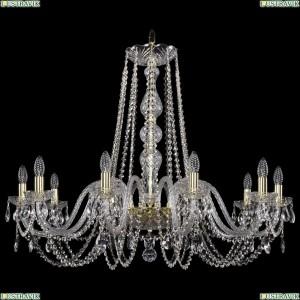 1402/10/360/G Хрустальная подвесная люстра Bohemia Ivele Crystal (Богемия)