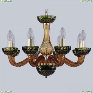1309/8/200 G Am/Amber-Green/H-1J Хрустальная люстра Bohemia Ivele Crystal (Богемия), 1309