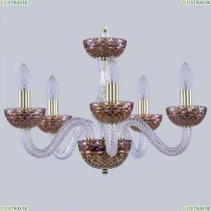 1310/5/165 G Cl/Shampan/M-1F Хрустальная люстра Bohemia Ivele Crystal (Богемия), 1310