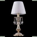 1702L/1-30/GW/SH32-160 Хрустальная настольная лампа Bohemia Ivele Crystal (Богемия), 7001