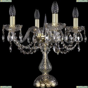 1402L/4/141-39/G Настольная лампа Bohemia Ivele Crystal (Богемия), 1402