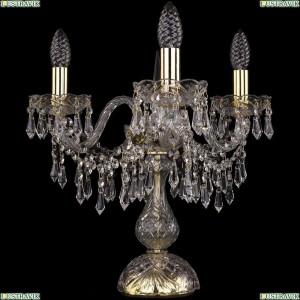 1403L/3/141-39/G Настольная лампа Bohemia Ivele Crystal (Богемия), 1403