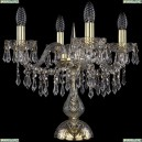 1403L/4/141-39/G Хрустальная настольная лампа Bohemia Ivele Crystal (Богемия), 1403