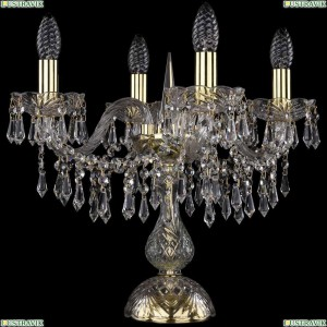 1403L/4/141-39/G Настольная лампа Bohemia Ivele Crystal (Богемия), 1403
