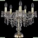 1403L/5/141-39/G Хрустальная настольная лампа Bohemia Ivele Crystal (Богемия), 1403