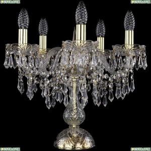 1403L/5/141-39/G Настольная лампа Bohemia Ivele Crystal (Богемия), 1403