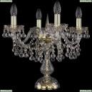 1409L/4/141-39/G Хрустальная настольная лампа Bohemia Ivele Crystal (Богемия), 1409