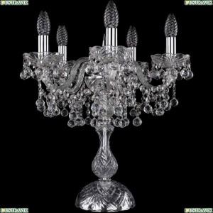 1409L/5/141-47/Ni Настольная лампа Bohemia Ivele Crystal (Богемия), 1409